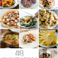 Favorite Recipes from 2013