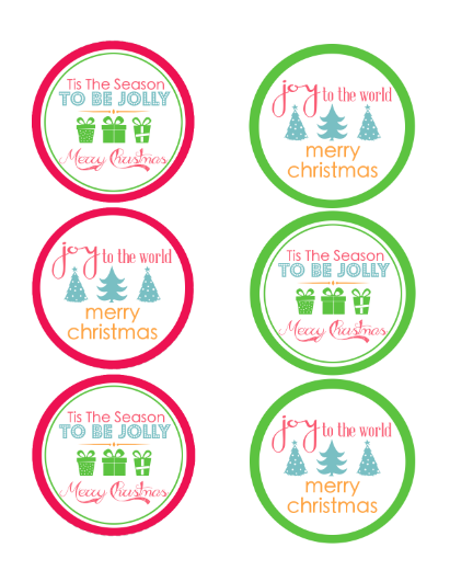 DIY Mason Jar Gift Labels
