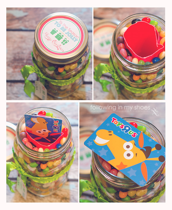 mason jar gift card holder tutorial