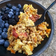 The Great Camping Adventure {and a Paleo Breakfast Scramble}