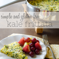The Gluten Free Collection: Simple Kale Frittata