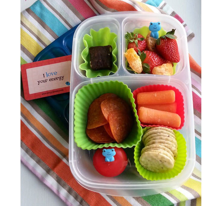 DIY #GlutenFree Lunchable