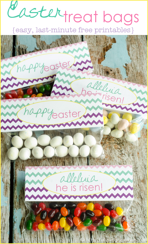 Last Minute Easter Treats #freeprintables #EasterIdeas