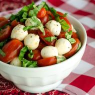 No Fuss Caprese Salad