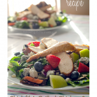 Copycat Chick-fil-a Grilled Chicken and Zesty Apple Cider Vinaigrette