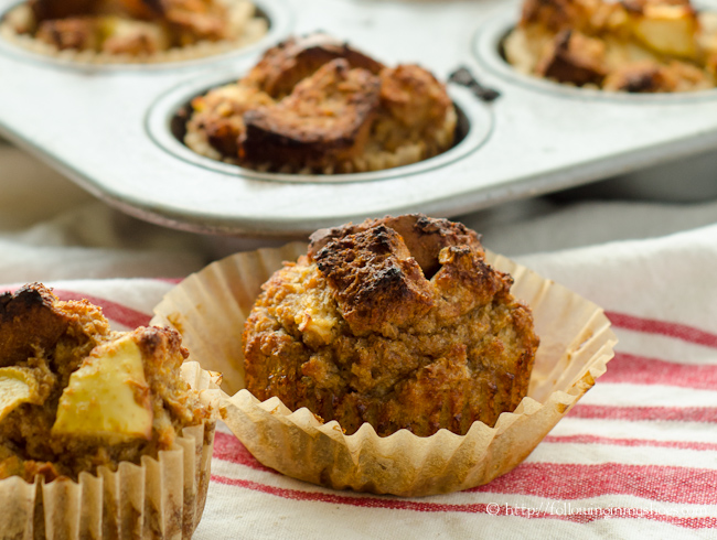 Gluten free Apple French Toast Muffins