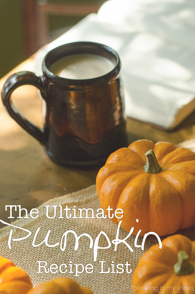 The Ultimate Pumpkin Recipe List: 56 Recipes for Fall
