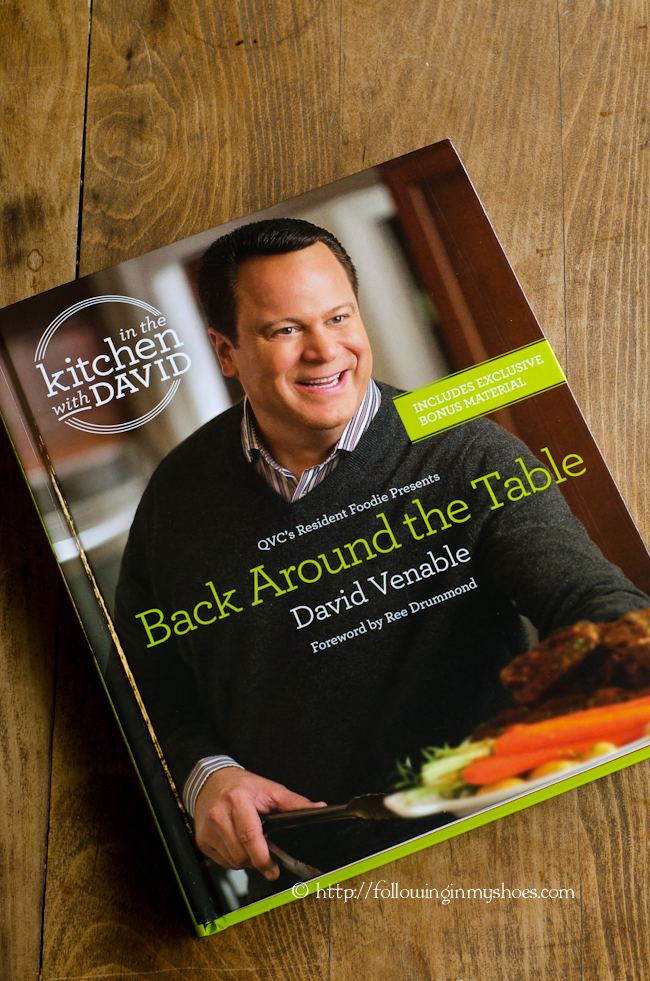 Back Around the Table Cookbook from David Venable