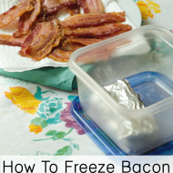 Can I Freeze Bacon? Absolutely!