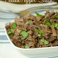 Instant-Pot Recipe: Pulled Pepper Steak